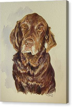 Canvas Print featuring the painting Jackie's Jack by Gloria Turner