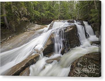Jackman Falls - North Woodstock New Hampshire Usa  Canvas Print by Erin Paul Donovan