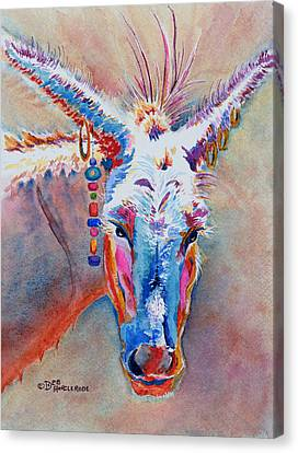 Jack's Girl - Donkey Canvas Print