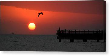 Jacks Sunrise Canvas Print