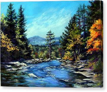 Jackson Falls New Hampshire Canvas Print