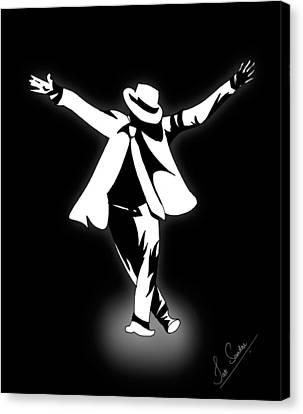 Michael Canvas Print - Jackson by Jak Sundar