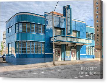 Old Bus Stations Canvas Print - Jackson Mississippi Greyhound Bus Station IIi by Clarence Holmes