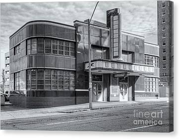 Old Bus Stations Canvas Print - Jackson Mississippi Greyhound Bus Station Iv by Clarence Holmes