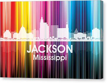 Jackson Ms 2 Canvas Print by Angelina Vick
