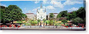 Jackson Square, New Orleans, Louisiana Canvas Print by Panoramic Images