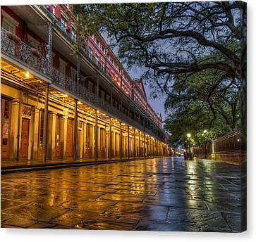 Jackson Square Reflections Canvas Print by Tim Stanley
