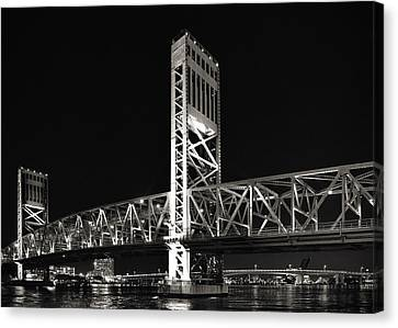 Jacksonville Florida Main Street Bridge Canvas Print by Christine Till