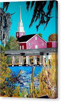 Jacksonville Nc A First Impression Canvas Print