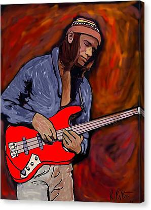 Jaco Canvas Print by Rob Peters