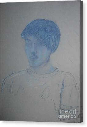 Jacob Stewart Canvas Print by James Eye