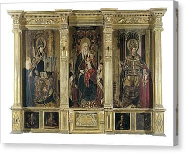 Jacomart, Jaume Ba��, Called 1410-1461 Canvas Print by Everett