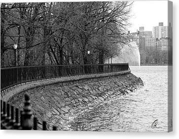 Jacqueline Kennedy Onassis Reservoir Ny Canvas Print