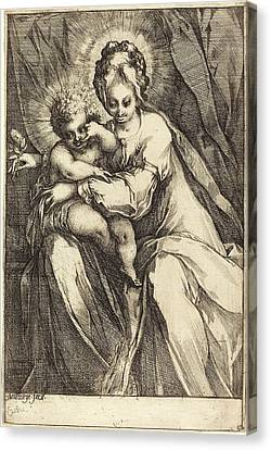 1616 Canvas Print - Jacques Bellange French, C. 1575 - Died 1616 by Quint Lox