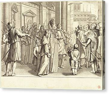 Jacques Callot, French 1592-1635, Grand Duchess Canvas Print by Litz Collection