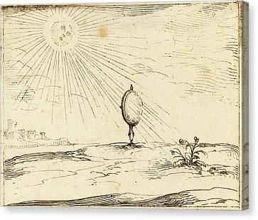 Sun Rays Canvas Print - Jacques Callot French, 1592 - 1635, Rays Of The Sun by Quint Lox