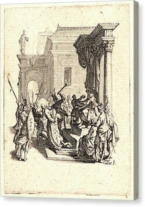 Jacques Callot French, 1592 - 1635. The Condemnation Canvas Print