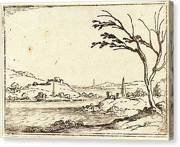 Jacques Callot, French 1592-1635, The Nile Flooding Canvas Print