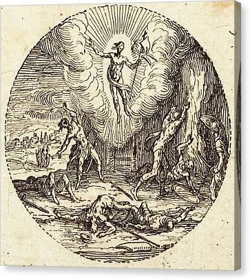 Jacques Callot French, 1592 - 1635, The Resurrection Canvas Print