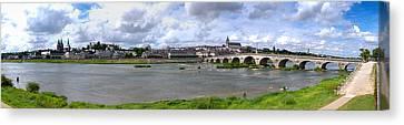 Jacques Gabriel Bridge Over The Loire Canvas Print