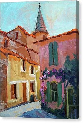 Jacques House Canvas Print by Diane McClary