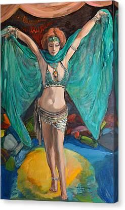 Jacqui Lalita Canvas Print