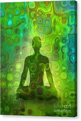 Jade Canvas Print by Lutz Baar
