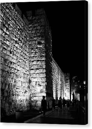 Jaffa Gate Canvas Print by Amr Miqdadi
