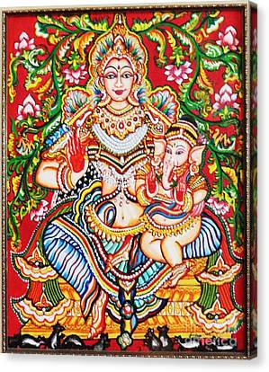 Jaganmatha Canvas Print by Jayashree