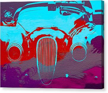 Jaguar Front End Canvas Print