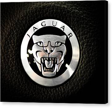 Jaguar Logo Canvas Print