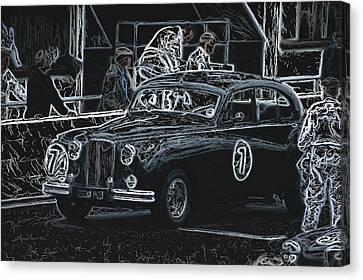 Jaguar Markvii 1952 Canvas Print by John Colley
