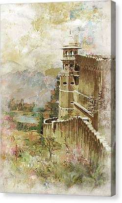 Jaigarh Fort Canvas Print by Catf