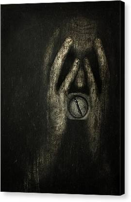 Mental Health Canvas Print - Jail Within by Johan Lilja