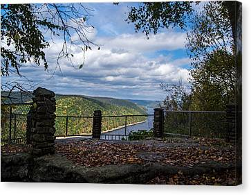 Jakes Rocks Overlook Canvas Print