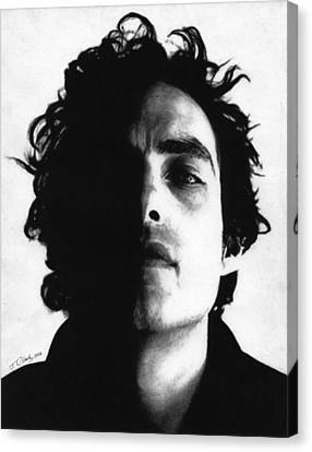 Jakob Dylan Canvas Print by Justin Clark