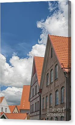 Jakriborg In Staffanstorp Canvas Print by Antony McAulay