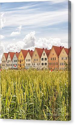 Jakriborg In Sweden Canvas Print by Antony McAulay