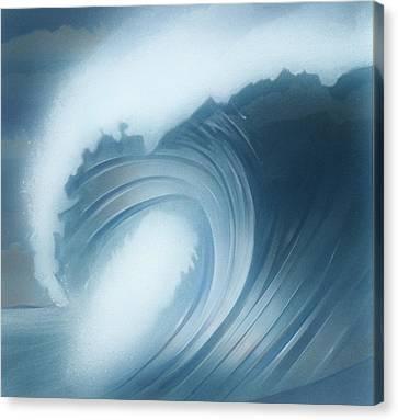 Jalama Surf Canvas Print