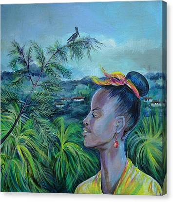 Jamaica. Part Two Canvas Print by Anna  Duyunova