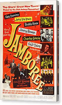Jamboree, Lower Left Joe Williams Canvas Print by Everett