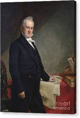 James Buchanan Canvas Print by GPA Healy
