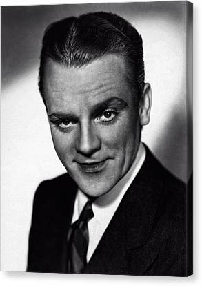James Cagney Canvas Print by Doc Braham