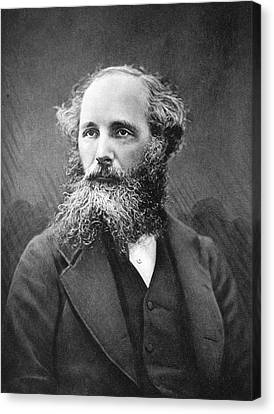 Physicist Canvas Print - James Clerk Maxwell by Science Photo Library