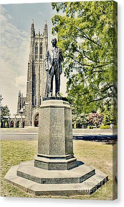 James Duke Statue Canvas Print