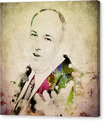 James Gandolfini Canvas Print by Aged Pixel