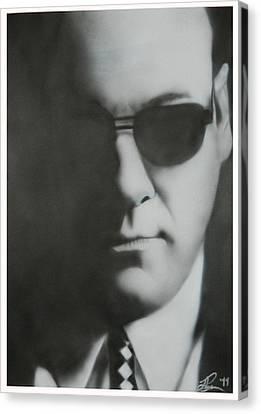 R.i.p Canvas Print - James Gandolfini/tony Soprano by Jake Rogers