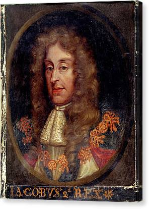 James II Canvas Print by British Library