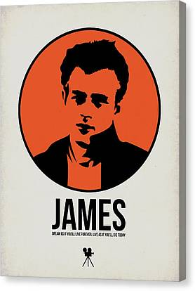 James Poster 1 Canvas Print