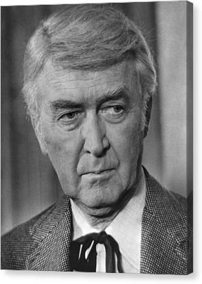 James Stewart In The Shootist  Canvas Print by Silver Screen